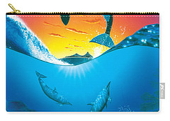 Ocean Freedom Carry-all Pouch by MGL Studio - Chris Hiett