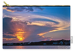 Ocean Isle Sunset Carry-all Pouch