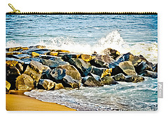 Ocean Jetty Carry-all Pouch by Colleen Kammerer
