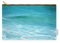 Carry-all Pouch featuring the photograph Ocean Lullaby by Roselynne Broussard