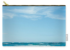 Carry-all Pouch featuring the photograph Ocean Of Joy by Sharon Mau