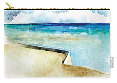 Ocean Pier In Key West Florida Carry-all Pouch