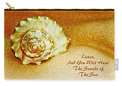 Inspirational Beach Treasures Carry-all Pouch