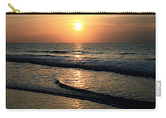 Ocean Sunrise Over Myrtle Beach Carry-all Pouch