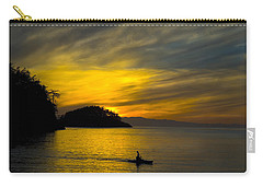 Ocean Sunset At Rosario Strait Carry-all Pouch