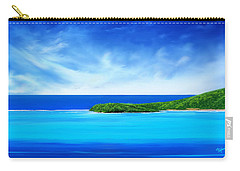 Ocean Tropical Island Carry-all Pouch