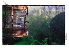 Carry-all Pouch featuring the photograph Oceanside Lantern by Patrice Zinck