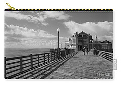 Oceanside Pier Carry-all Pouch by Ana V Ramirez