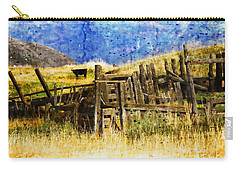October Day Carry-all Pouch by Kathy Bassett