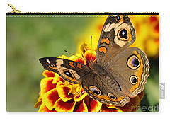 Carry-all Pouch featuring the photograph October Garden by Nava Thompson