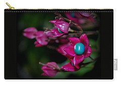 October In My Garden... Carry-all Pouch by Marija Djedovic