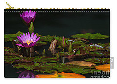 October Lilies 2 Carry-all Pouch