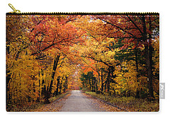 October Road Carry-all Pouch by Cricket Hackmann