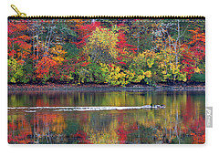 October's Colors Carry-all Pouch by Dianne Cowen