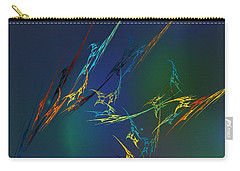 Carry-all Pouch featuring the digital art Ode To Joy by David Lane