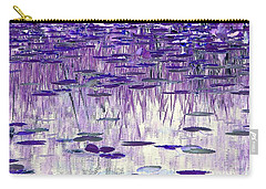Ode To Monet In Purple Carry-all Pouch