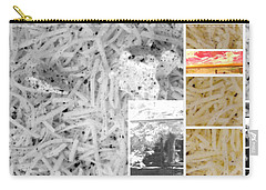 Carry-all Pouch featuring the photograph Odio Si Sta Sciogliendo by Sir Josef - Social Critic - ART