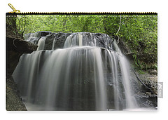 Odom Creek Waterfall Georgia Carry-all Pouch by Charles Beeler