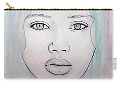 Of Colour And Beauty - Blue Carry-all Pouch