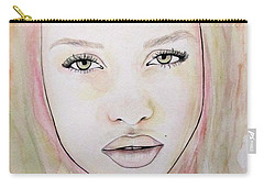 Of Colour And Beauty - Pink Carry-all Pouch