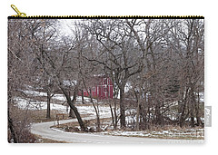 Carry-all Pouch featuring the photograph Off The Beaten Path by Liane Wright