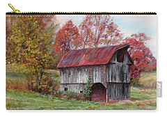 Off The Beaten Track-old Barn With Red Roof Carry-all Pouch