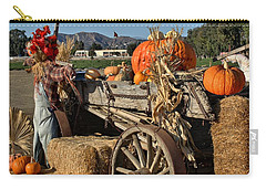 Carry-all Pouch featuring the photograph Off To Market by Michael Gordon