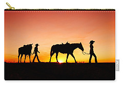 Off To The Barn Carry-all Pouch