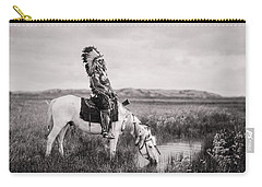 White Horse Carry-all Pouches