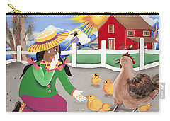 Oh Chick Carry-all Pouch