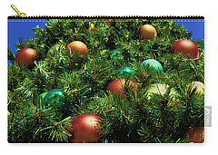 Carry-all Pouch featuring the photograph Oh Christmas Tree by Kathy Churchman