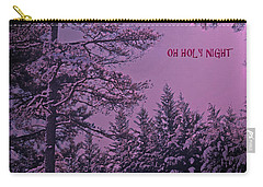 Oh Holy Night Carry-all Pouch by Lydia Holly