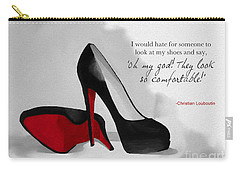 Oh My God Louboutin Carry-all Pouch by Rebecca Jenkins