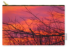Oh What A Beautiful Morning Carry-all Pouch by Elizabeth Dow