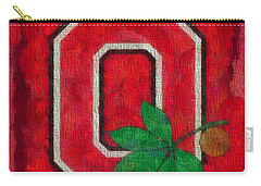 Ohio State Buckeyes On Canvas Carry-all Pouch by Dan Sproul