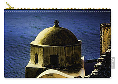 Oia Greece Carry-all Pouch by Tom Prendergast