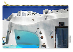 Oia Santorini  With Direct View To The Oceon Greece Carry-all Pouch