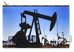 Oil Fields Carry-all Pouch