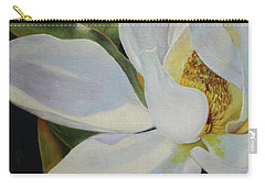 Oil Painting - Sydney's Magnolia Carry-all Pouch