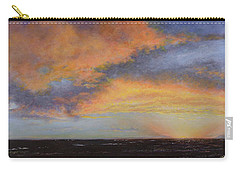 Oil Painting When The Sky Turns Color Carry-all Pouch