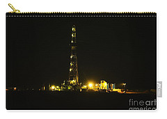 Oil Rig Carry-all Pouch by Jeff Swan