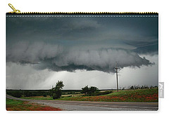 Oklahoma Wall Cloud Carry-all Pouch by Ed Sweeney