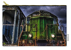 Carry-all Pouch featuring the photograph Old 6139 Locomotive by Thom Zehrfeld