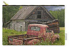 Old Abandoned Homestead And Truck Carry-all Pouch