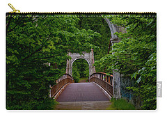 Old Alexandra Bridge Carry-all Pouch by Rod Wiens