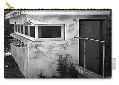 Carry-all Pouch featuring the photograph Old Army Lookout by Miroslava Jurcik