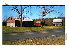 Carry-all Pouch featuring the photograph Old Barn by Amazing Photographs AKA Christian Wilson