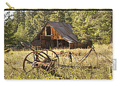 Old Barn And Plow Carry-all Pouch