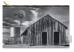 Old Barn No Wind Carry-all Pouch by Mark Myhaver