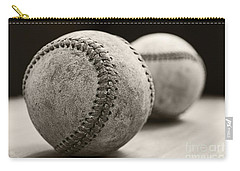 Old Baseballs Carry-all Pouch by Edward Fielding